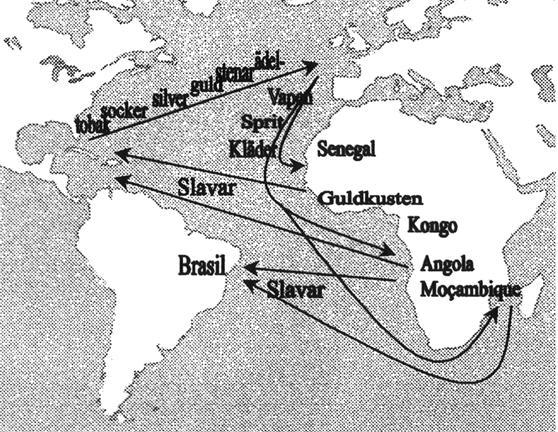 Karta Afrikas Ostkust.Nr 28 1997